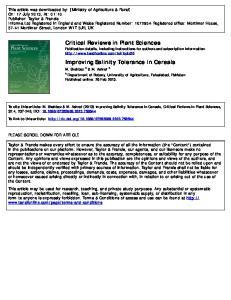 Published online: 20 Feb 2013