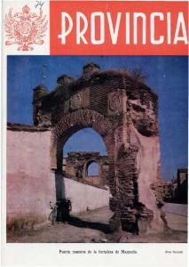 Puerta maestra de la fortaleza de Maqueda
