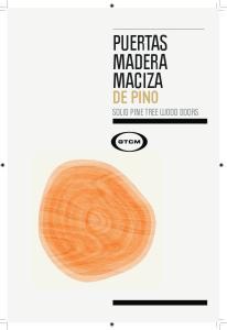PUERTAS MADERA MACIZA DE PINO SOLID PINE TREE WOOD DOORS