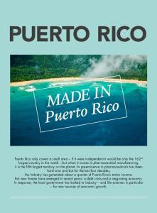 PUERTO RICO MADE IN. Puerto Rico. Made in. Puerto Rico