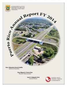 PUERTO RICO TRAFFIC SAFETY COMMISION ANNUAL REPORT