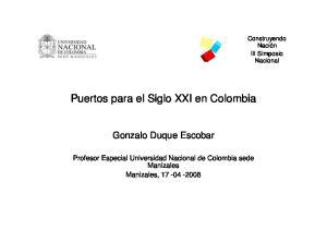 Puertos para el Siglo XXI en Colombia