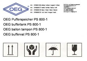 Pufferspeicher S 8 buffertank S 8 ballon tampon S 8 buffervat S 8