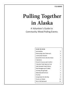 Pulling Together in Alaska