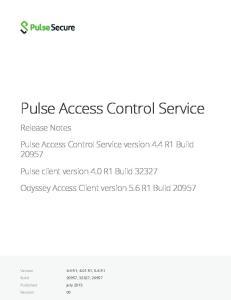 Pulse Access Control Service