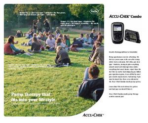 Pump therapy that fits into your lifestyle. Enjoy greater freedom with an insulin pump
