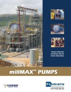 Pumps & Wet-End Conversion Kits for Severe Duty Slurry