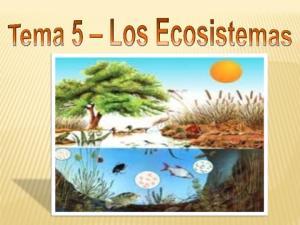 Punto 1: Biosfera, Ecosistema y Ecosfera