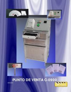 PUNTO DE VENTA C-0900