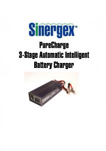 PureCharge 3-Stage Automatic Intelligent Battery Charger