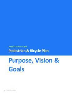 Purpose, Vision & Goals