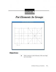 Put Elements In Groups