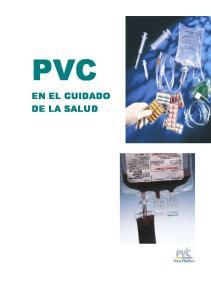 PVC EN EL CUIDADO DE LA SALUD