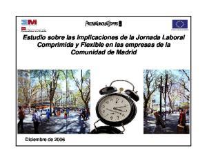 pwc Estudio sobre las implicaciones de la Jornada Laboral Comprimida y Flexible en las empresas de la Comunidad de Madrid