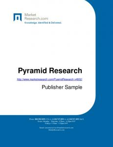 Pyramid Research.  Publisher Sample