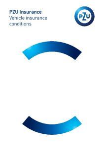 PZU Insurance Vehicle insurance conditions