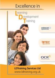QCF) Hospitality Services Intermediate Apprenticeship Level 2