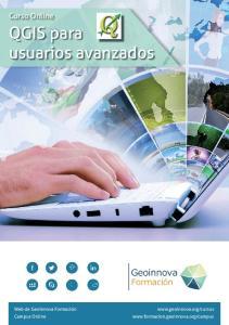 QGIS para usuarios avanzados
