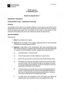 QLDC Council 24 September Report for Agenda Item: 7
