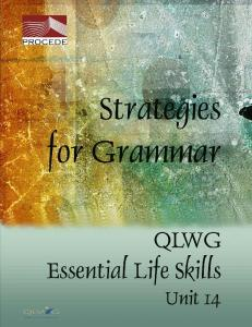 QLWG Skills for Life Acknowledgements
