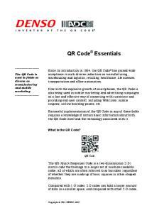 QR Code Essentials. QR Code