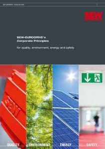 QUALITY ENVIRONMENT ENERGY SAFETY