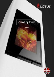 Quality First. Beto. Danish Design