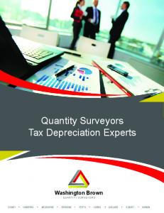 Quantity Surveyors Tax Depreciation Experts