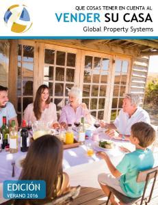 QUE COSAS TENER EN CUENTA AL. VENDER SU CASA Global Property Systems