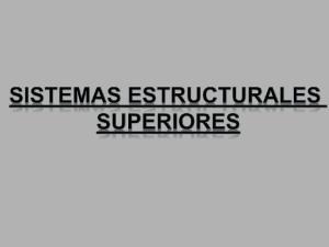 Que son Sistemas Estructurales?
