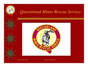 Queensland Mines Rescue Service