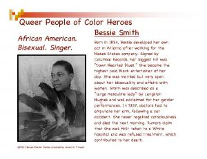 Queer People of Color Heroes