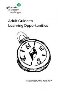Questions about Learning Opportunities? Contact us! 1(800)