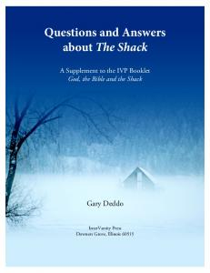 Questions and Answers about The Shack