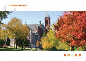 QUICK FACTS SYRACUSE UNIVERSITY