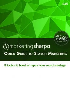Quick Guide to Search Marketing