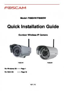Quick Installation Guide