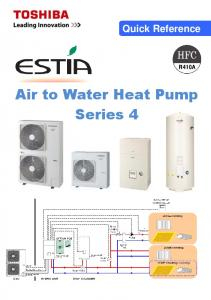 Quick Reference. Air to Water Heat Pump Series 4