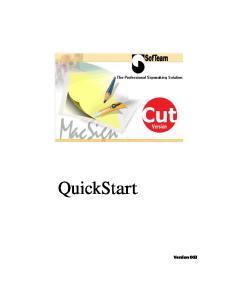 QuickStart. Version 003
