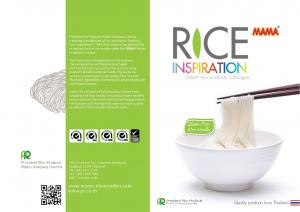 R CE. instant rice products catalogue. Quality products from Thailand. Gluten Free Rice Noodles
