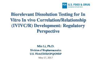 R) Development: Regulatory Perspective
