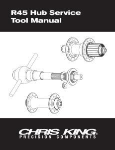 R45 Hub Service Tool Manual