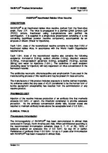 RABIPUR Product Information AUST R Page 1 of 13