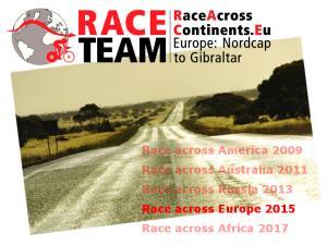 RACE-TEAM Race across Russia 2013
