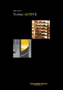 rack ovens Techno ACTIVE