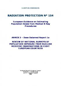 RADIATION PROTECTION N 154