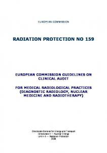 RADIATION PROTECTION NO 159