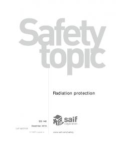Radiation protection SS-148
