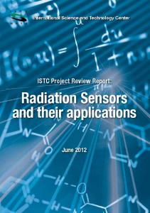 Radiation Sensors and their applications