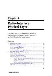 Radio-Interface Physical Layer